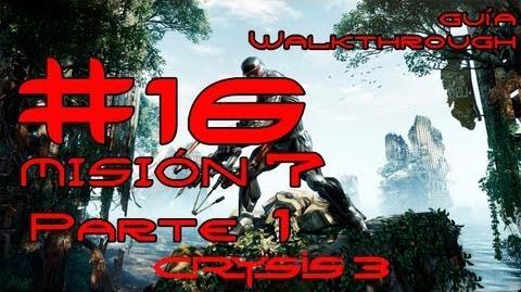 Crysis 3 Español Parte 16 Misión 7 (1 2) - Dioses y Monstruos Guía HD PC PS3 X360