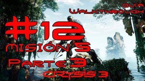 Crysis 3 Español Parte 12-Misión 5 Parte 3-Estrella Roja Naciente Guía HD PC PS3 X360