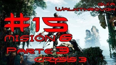 Crysis 3 Español Parte 15 Misión 6 (3 3) - Solo Humano Guía HD PC PS3 X360
