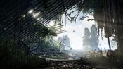 Crysis 3 online screen 3 - collapsed building