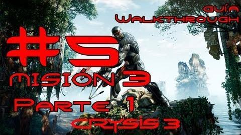 Crysis 3 Español Parte 5-Misión 3 Parte 1-El origen de todo mal Guía HD PC PS3 X360