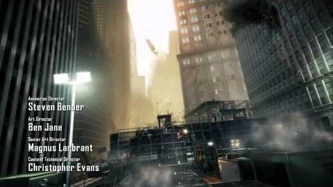 Crysis 2 - Opening Credits Sequence
