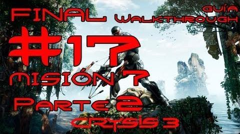 Crysis 3 Español Parte 17 Final Misión 7 (2 2) - Dioses y Monstruos Guía HD PC PS3 X360
