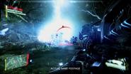 Ceph Plasma Charged Shot Vaporizing Enemy
