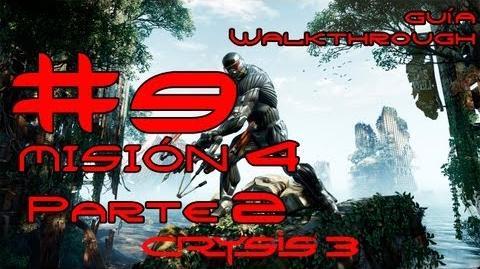 Crysis 3 Español Parte 9-Misión 4 Parte 2-Sin Seguros Guía HD PC PS3 X360