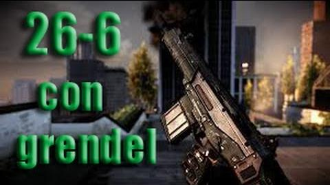 26-6 con la grendel Crysis 2