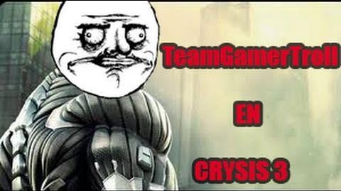 Trolleando en el crysis 3!!!
