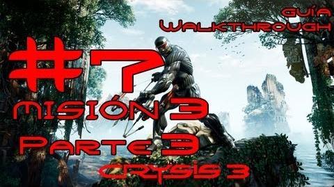 Crysis 3 Español Parte 7-Misión 3 Parte 3-El origen de todo mal Guía HD PC PS3 X360