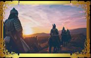 Wojownicy na koniach