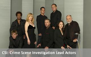 CSI: Crime Scene Investigation Lead Actors