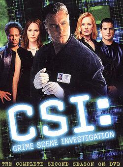 CSI Crime Scene Investigation - The Complete Second Season (DVD).jpg
