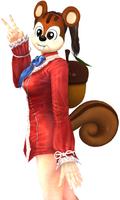 Yuri wsquirrel costume