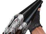 Triple-barreled shotgun