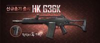 G36k poster korea