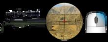 x2 sniper scope