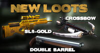 Sl8 gold crossbow dbarrel code box