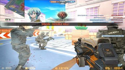 CSO New Series Weapon Vulcanus-7 (Gameplay with Bots)