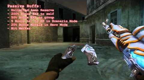 M4A1 Dark Knight and AK-47 Paladin - Counter-Strike Nexon Zombies
