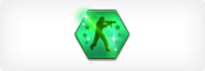 Black market badge