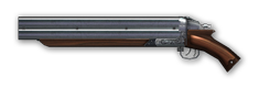 Double-barreled shotgun