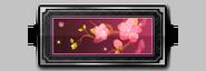 Spring flower nameplate