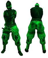 Heal zombie green