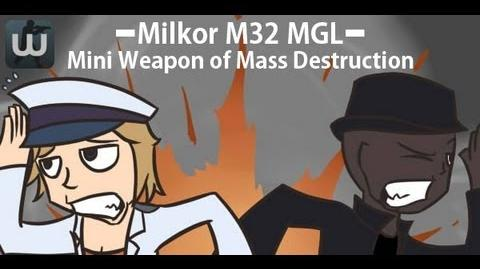 "Gameplay of Milkor M32 MGL! ""WE HAVE DARKEN THE MAP!"""