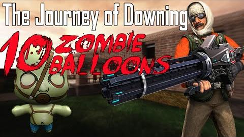 CS Online - Journey of Downing 10 Zombie Balloons