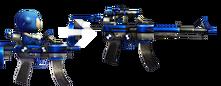 Sniper rifle mode
