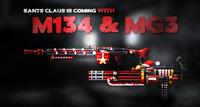 M134 mg3 xmas promo