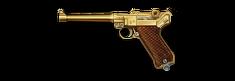 Luger P08 Gold