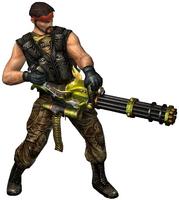 Guerilla warfare wzhubajie minigun