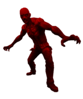 Parkour zombie red