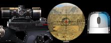 1× sniper scope