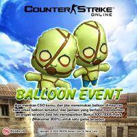 Zombieballoon poster idn