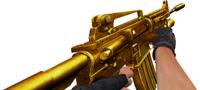 M4a1gold shoot