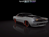 """Plymouth 'Cuda """"TorC"""" Weaver Customs Independence Day Edition"""