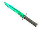 Bayonet emerald marbleized