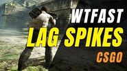 Playing CSGO Badly With WTFAST TO FIX LAG SPIKES!