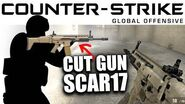 Cut Content of CS GO - SCAR17 Assault Rifle - CCCS 28