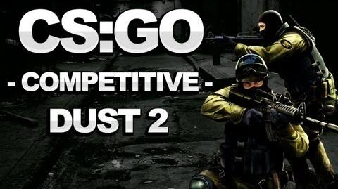 Counterstrike Global Offensive Walkthrough - Competitive Dust II - Strategy