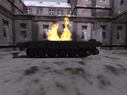 Brecon t-90 body destroyed