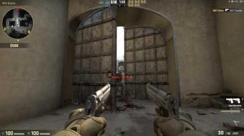Weapon Demonstration - Dual Berettas (Counter-Terrorist)