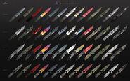 Shattered Web Knives Grid