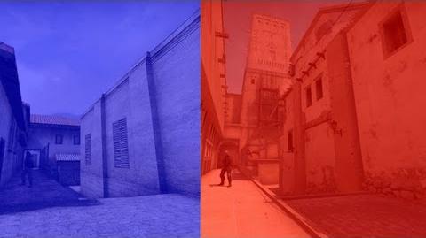 CS GO New de mirage vs Old de mirage, Side to Side Comparison Splitscreen, 6 12 13 Update by Valve