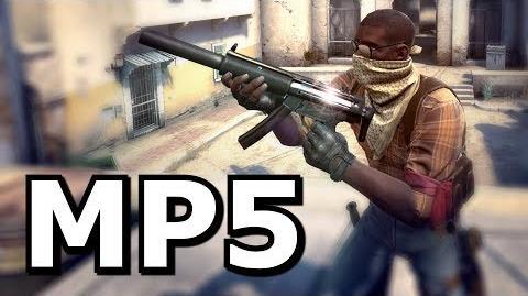 CS GO's New Weapon - The MP5