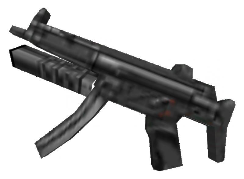 MP5 SD (cut weapon)