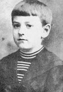Howard Phillips Lovecraft - circa 1900