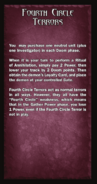 Loyalty Card - Fourth Circle Terrors