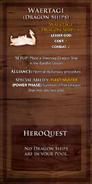 Loyalty Card - Waertagi Dragon Ship